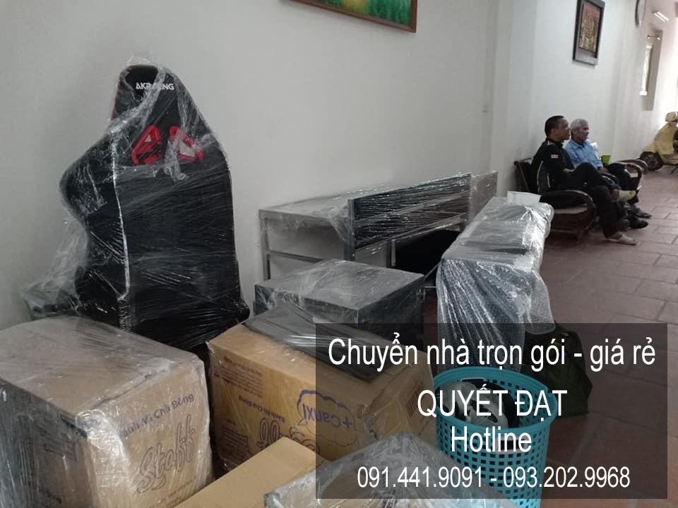 Dịch vụ chuyển nhà Quyết Đạt tại phố Quỳnh Mai