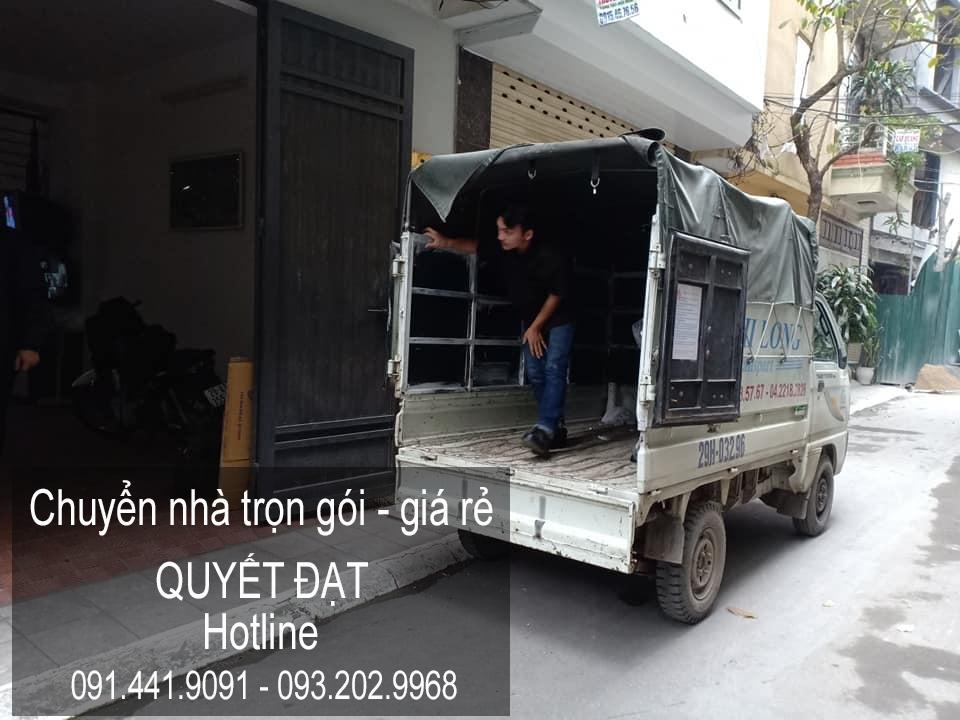 Chuyển nhà Quyết Đạt tại phố Nguyễn Khắc Cần