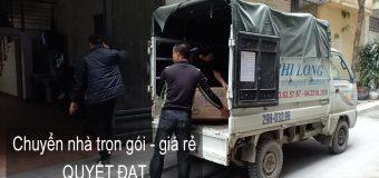 Dịch vụ chuyển nhà Quyết Đạt tại phường Thượng Thanh