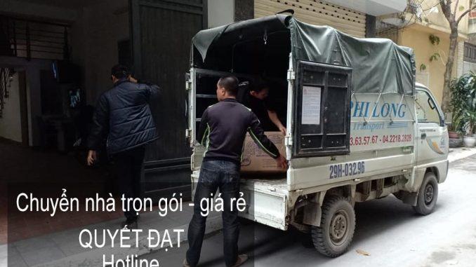 Dịch vụ chuyển nhà Quyết Đạt tại đường phùng hưng