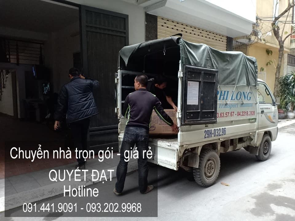 Dịch vụ chuyển nhà trọn gói tại phố Nguyễn Cao