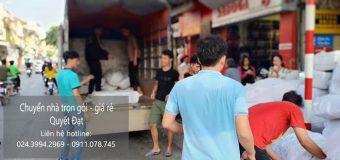 Chuyển nhà trọn gói tại phố Đặng Tất