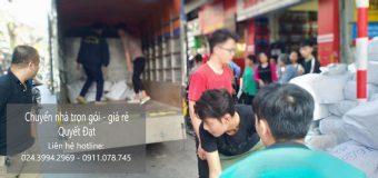 Dịch vụ chuyển nhà Quyết Đạt tại phố Đình Ngang