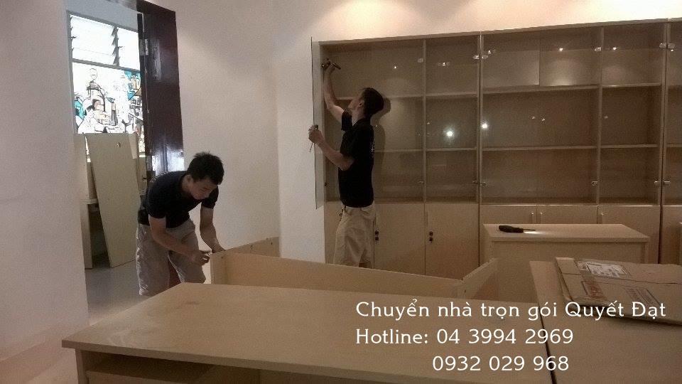 Thanh Hương chuyển nhà trọn gói giá rẻ phố Đặng Thùy Trâm