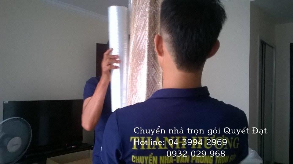 Chuyển nhà chọn gói phố Phan Văn Trường với Thanh Hương