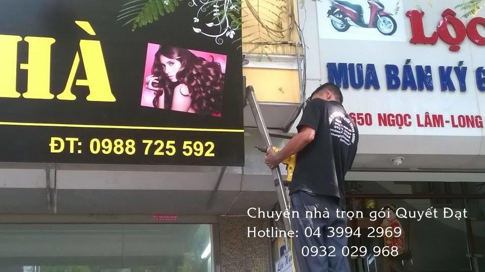 Chuyển nhà trọn gói phố Trần Đăng Ninh với Thanh Hương
