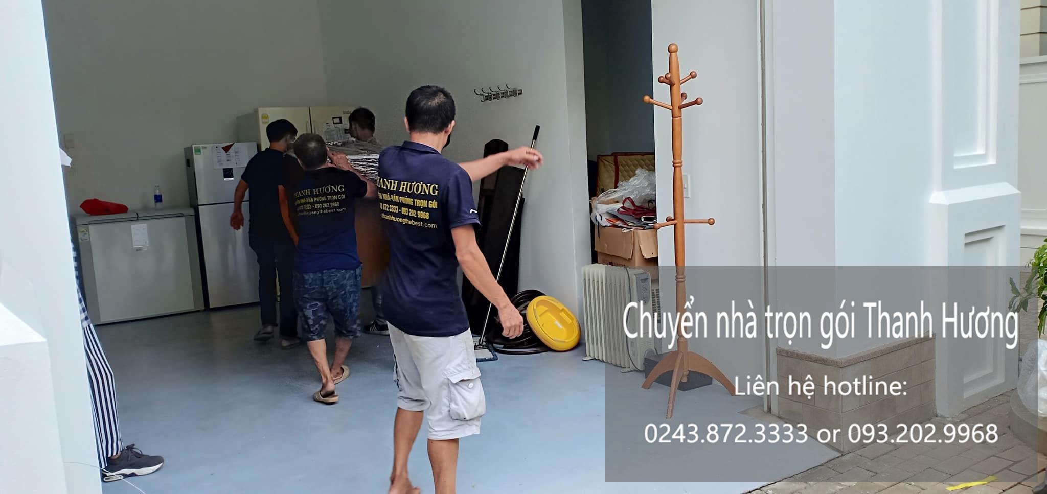 Dịch vụ chuyển nhà trọn gói tại phố Đặng Xuân Bảng