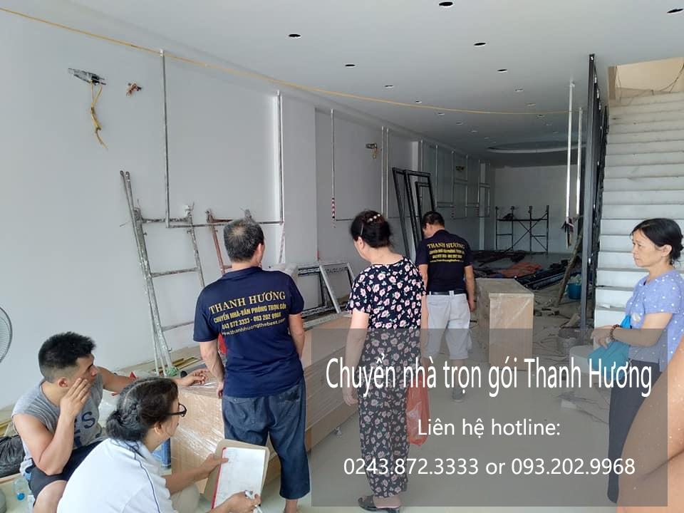 Dịch vụ chuyển nhà Quyết Đạt tại phố Phú Kiều