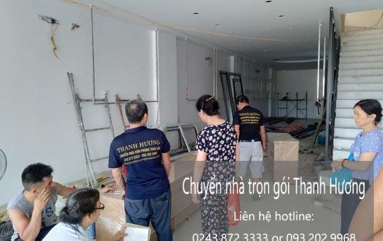 Dịch vụ chuyển nhà giá rẻ tại phố An Xá đi Hải Phòng