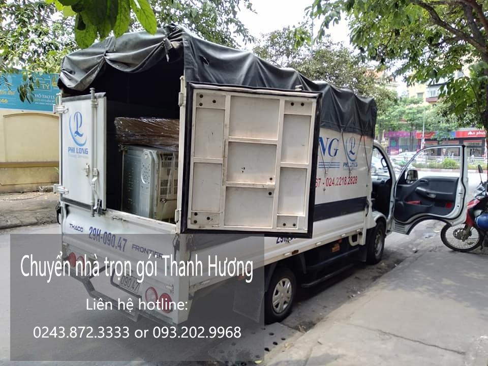 Chuyển nhà Quyết Đạt tại phố Hà Huy Tập