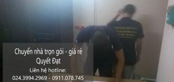 Dịch vụ chuyển nhà Quyết Đạt tại phố Nguyễn Thị Thập