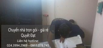 Dịch vụ chuyển nhà Quyết Đạt tại phố Cửu Việt