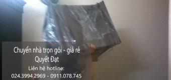 Dịch vụ chuyển nhà giá rẻ Quyết Đạt tại phố Nguyễn Chánh