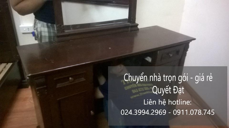 Dịch vụ chuyển nhà Quyết Đạt tại phố Nguyễn Khánh Toàn
