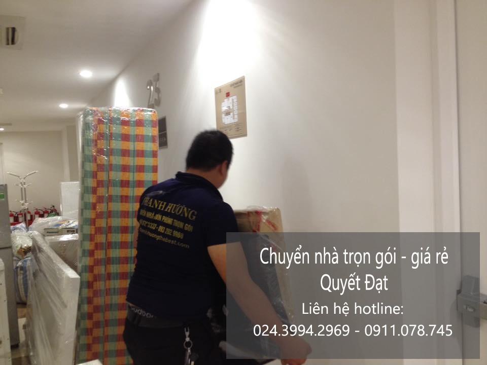 Dịch vụ chuyển nhà Quyết Đạt tại phố Trần Quốc Vượng