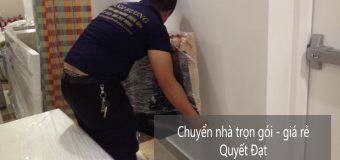 Dịch vụ chuyển nhà Quyết Đạt tại đường Phú Viên