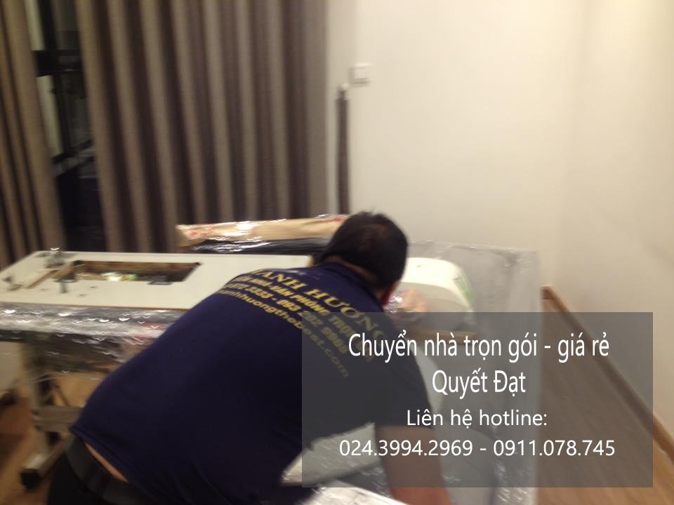 Dịch vụ chuyển nhà trọn gói tại phố Phú Lãm