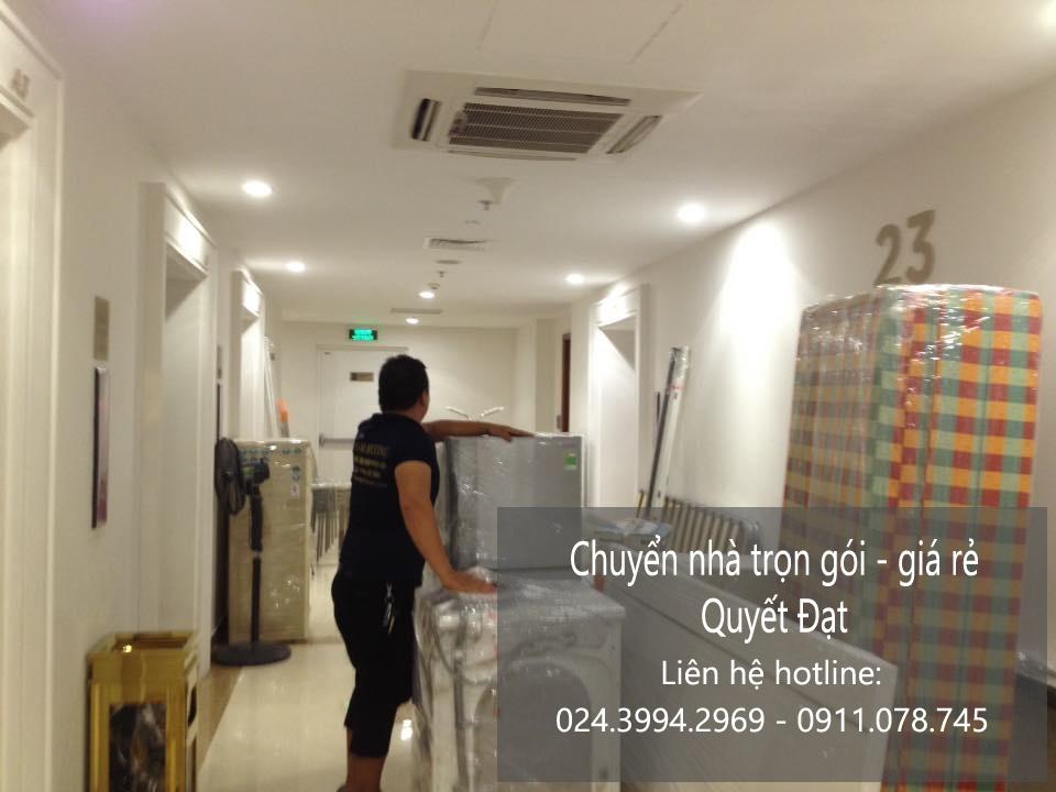 Chuyển nhà trọn gói Quyết Đạt tại phố Phan Văn Đáng