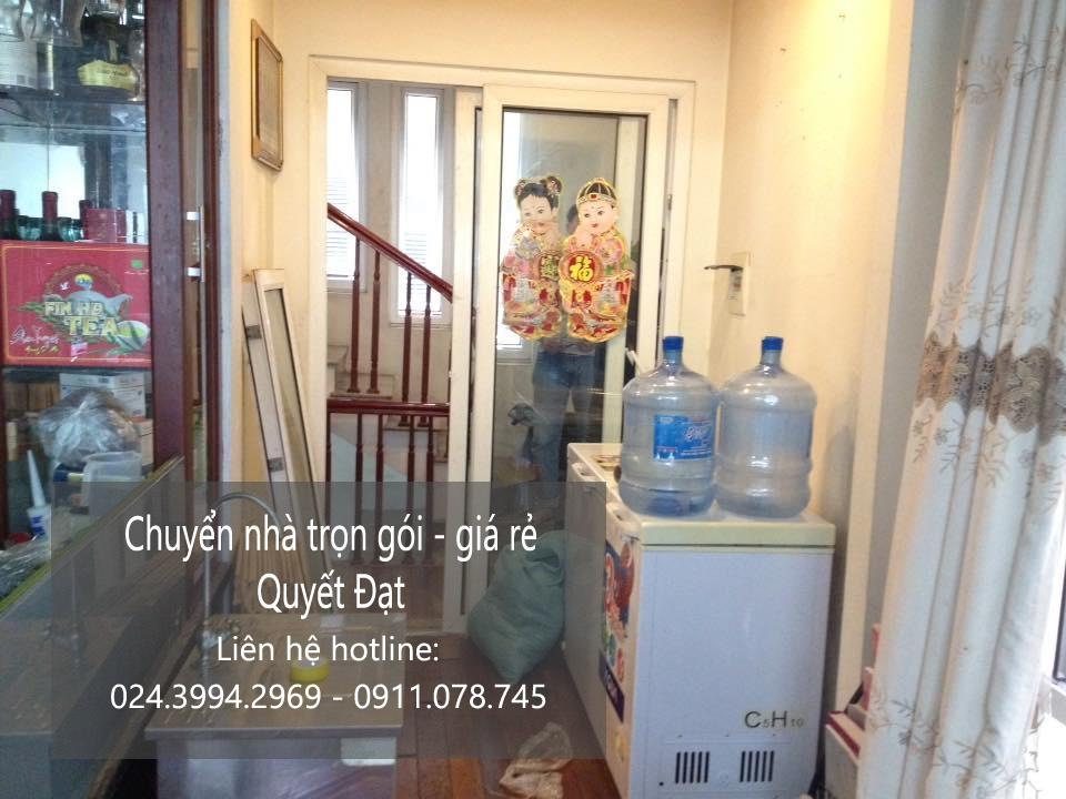 Dịch vụ chuyển nhà trọn gói tại phố Thanh Yên