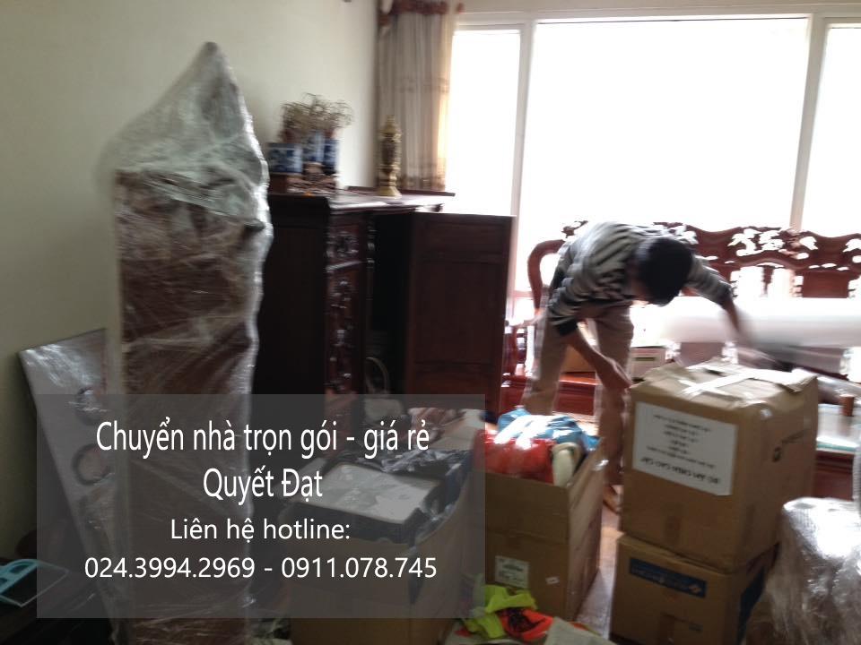 Chuyển nhà trọn gói tại phố Đông Thiên
