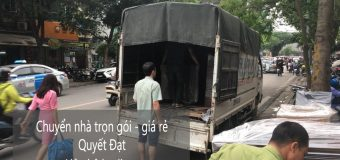 Chuyển nhà trọn gói giá rẻ tại phố Tân Ấp