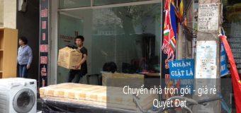 Chuyển nhà trọn gói uy tín tại phố Thành Thái