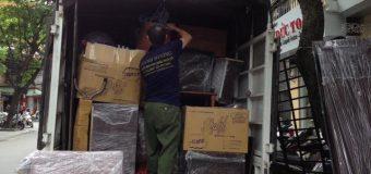 Dịch vụ chuyển nhà Quyết Đạt tại phố Hoàng Minh Giám