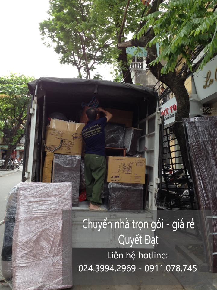 Chuyển nhà trọn gói giá rẻ tại phố Kim Đồng