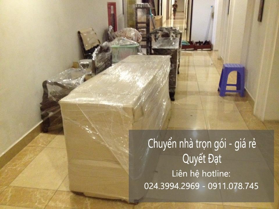 Dịch vụ chuyển nhà Quyết Đạt tại quận Hoàng Mai và Gia Lâm