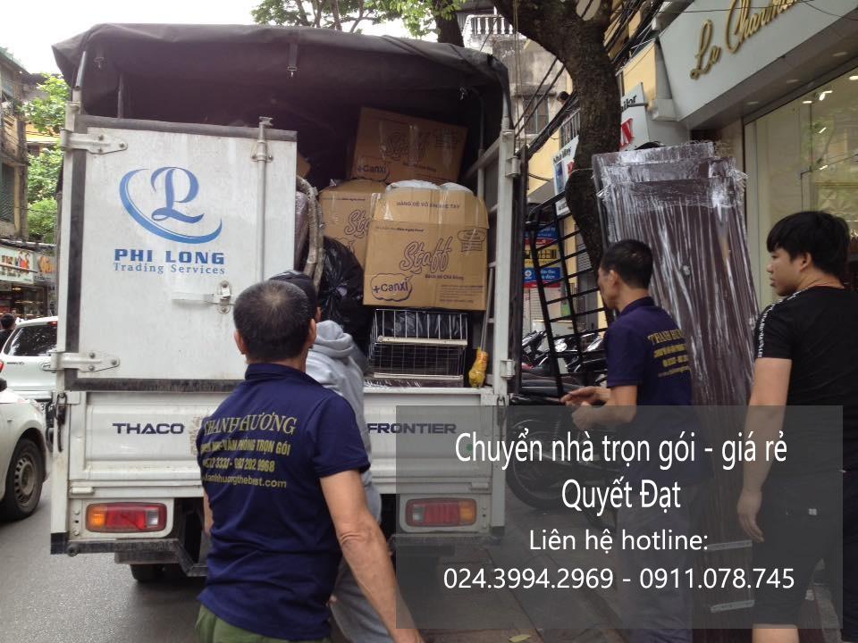 Công ty chuyển nhà Quyết Đạt tại quận Long Biên đi quận Ba Đình