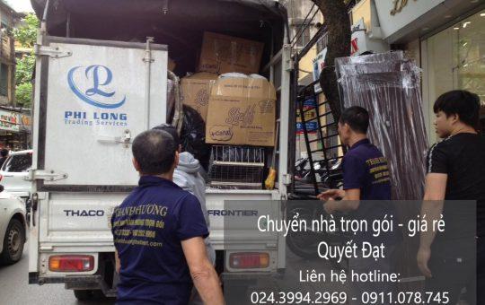 Dịch vụ chuyển nhà trọn gói tại đường Phúc Diễn đi Gia Lâm