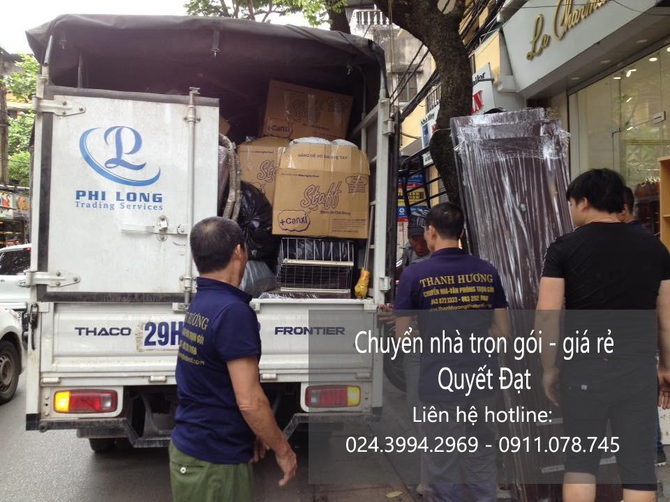 Dịch vụ chuyển nhà trọn gói tại phố Hòe Nhai