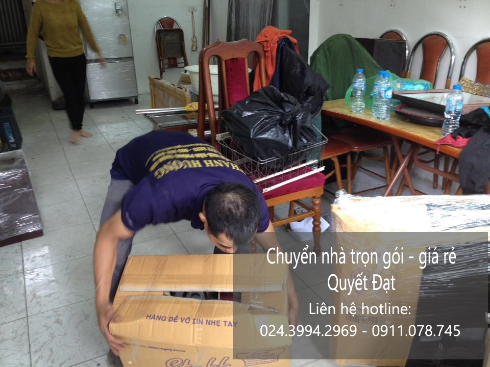 Dịch vụ chuyển nhà trọn gói tại phố Đào Duy Từ