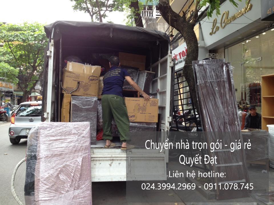 Chuyển nhà trọn gói tại phố Tràng Tiền