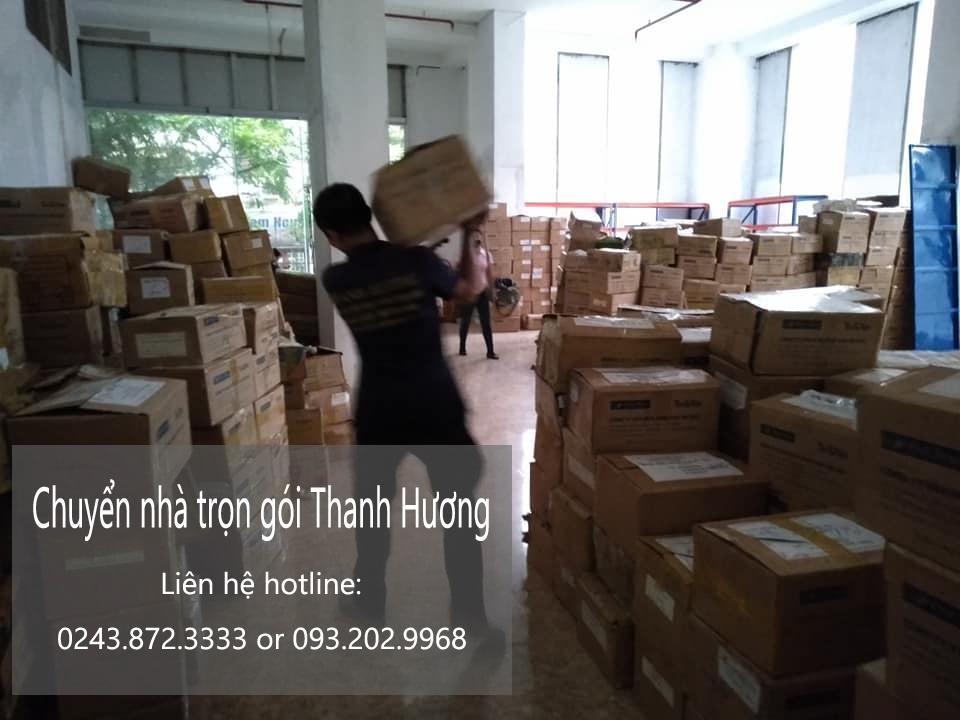 Dịch vụ chuyển nhà Quyết Đạt tại đường Tu Hoàng