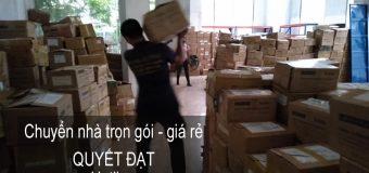 Dịch vụ chuyển nhà Quyết Đạt tại phố Nguyên Khiết 2019