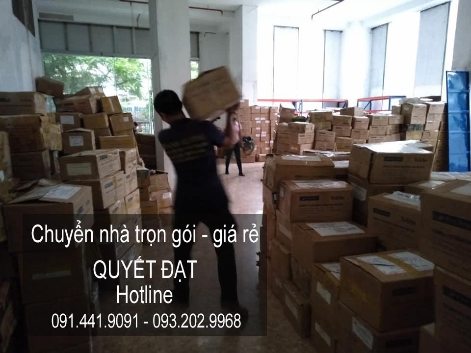 Dịch vụ chuyển nhà Quyết Đạt tại phố Nguyên Khiết