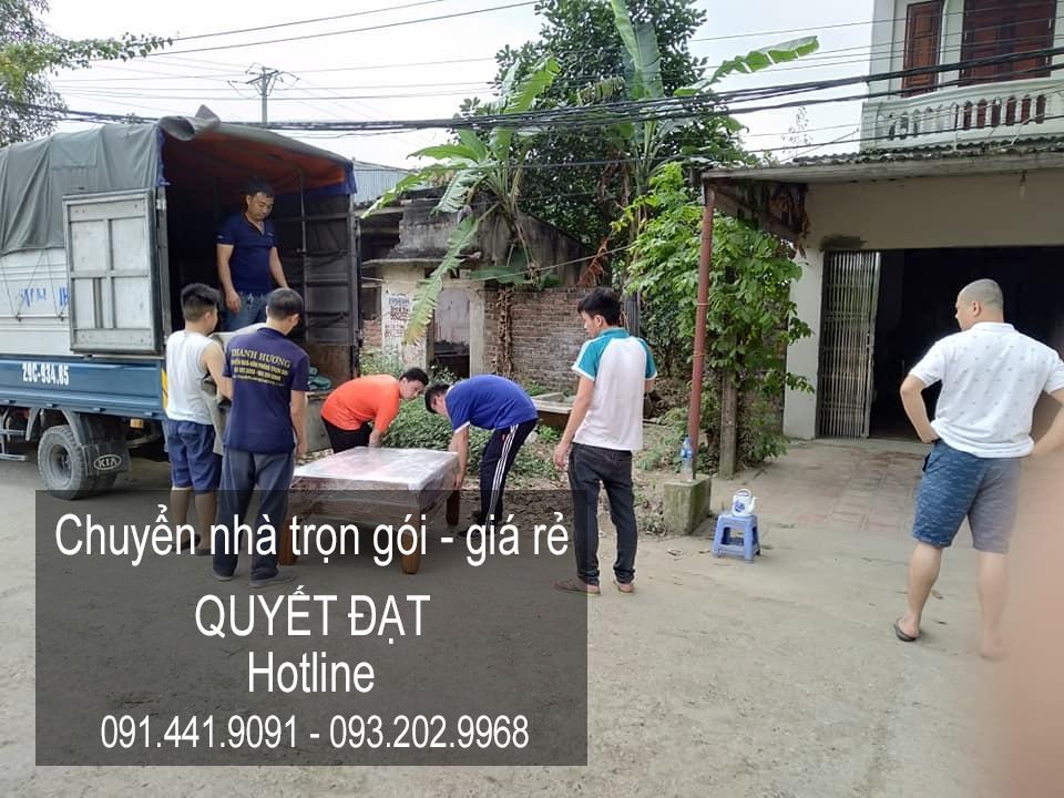 Dịch vụ chuyển nhà Quyết Đạt tại phố Tôn Thất Phiệt