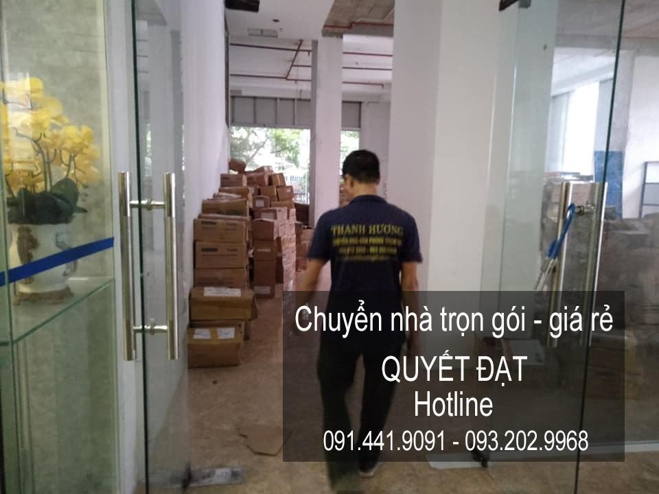 Dịch vụ chuyển nhà Quyết Đạt tại đường Tân Mai