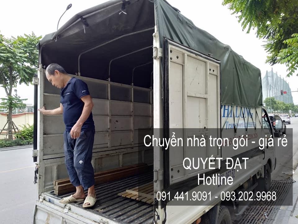Dịch vụ chuyển nhà Quyết Đạt tại đường Kim Giang