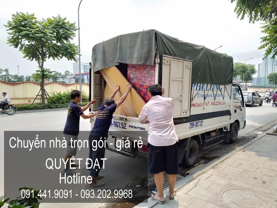 Dịch vụ chuyển nhà Quyết Đạt tại đường Phạm Hùng