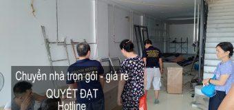 Dịch vụ chuyển nhà trọn gói Quyết Đạt tại phố Nguyễn Đình Tứ 2019.