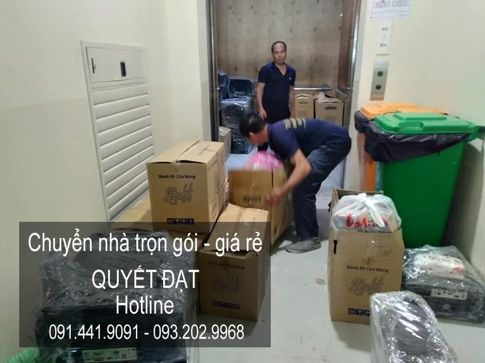 Dịch vụ chuyển nhà Quyết Đạt tại đường chu huy mân