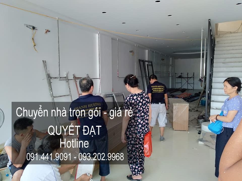 Dịch vụ chuyển nhà Quyết Đạt tại phố Nguyễn Đình Tứ