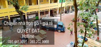 Dịch vụ chuyển nhà Quyết Đạt tại phố Chu Huy Mân