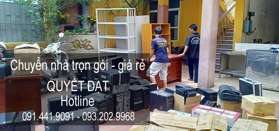 Dịch vụ chuyển nhà Quyết Đạt tại xã Hương Ngải