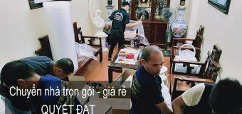 Dịch vụ chuyển nhà Quyết Đạt tại phường Ngọc Thụy
