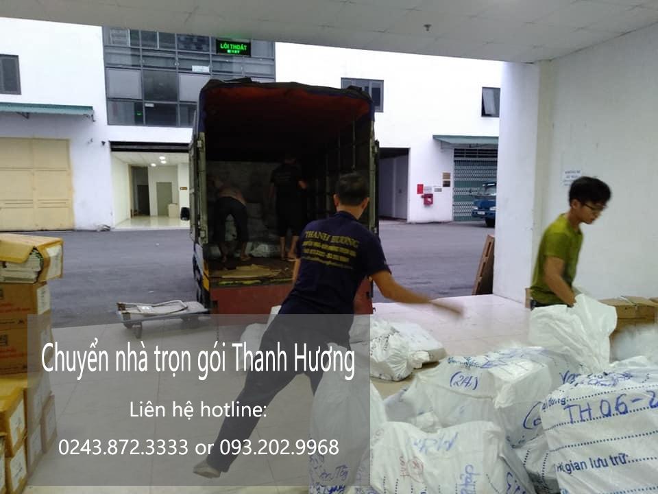 Dịch vụ chuyển nhà trọn gói tại đường Hữu Hưng