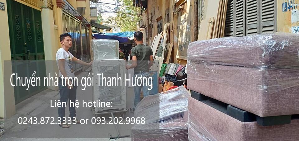 Dịch vụ chuyển nhà Quyết Đạt tại đường Nguyễn Hoàng