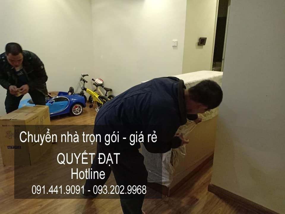 Dịch vụ chuyển nhà Quyết Đạt tại phố Lê Quang Đạo